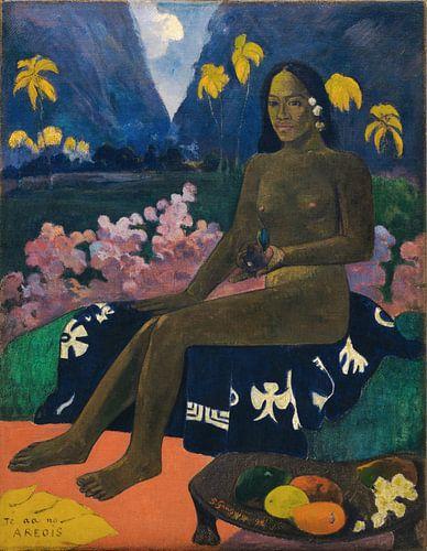 Paul Gauguin. Te aa no areois van 1000 Schilderijen
