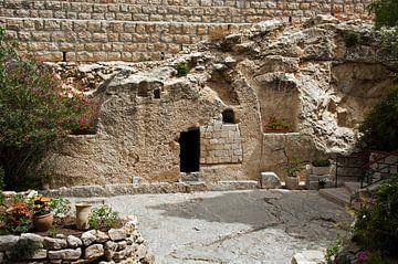 de graftombe van Jesus in Jerusalem Israel