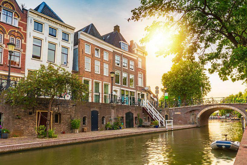 Oudegracht, Utrecht van Sander Meertins