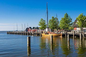 Zeesboot im Hafen von Ahrenshoop von Rico Ködder