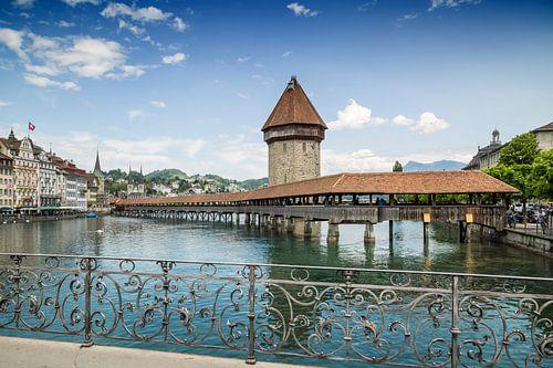 LUZERN Kapellbrücke & Wasserturm