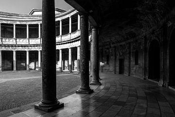 Paleis van Karel V - Alhambra von Jack Koning