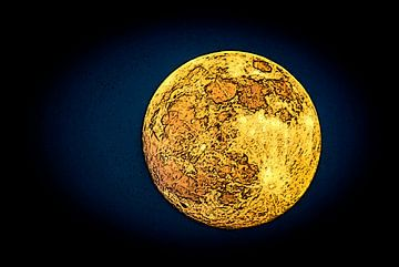 Voll Mond (2) von Norbert Sülzner