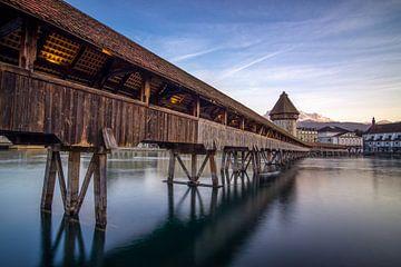 Luzern Kappelbrücke von Severin Pomsel
