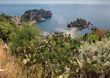 Isola Bella, Taormina, Sizilien, Italien von Rene van der Meer