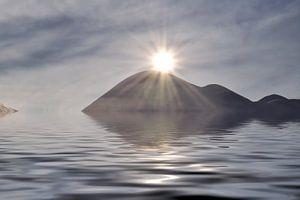 eiland in de zon