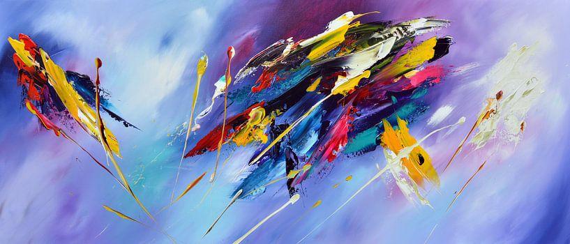 Abstract van Gena Theheartofart