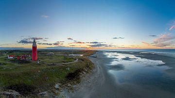 Vuurtoren Eierland Texel laatste zonsondergang van 2020