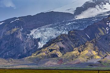 Eyjafjallajökull-Gletscher von Easycopters