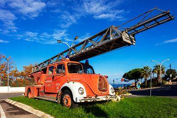 historisches Feuerwehrauto von Jürgen Wiesler
