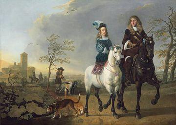 Lady and Gentleman on Horseback, Aelbert Cuyp
