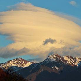 Tessiner Alpen bij avondlicht van Felina Photography