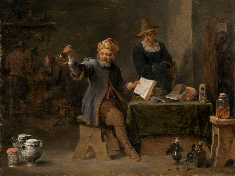 Der Dorfarzt, David Teniers II von Meesterlijcke Meesters