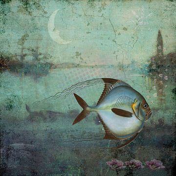 Not my day - Nicht mein Tag.. sagt der Fisch von Annette Hanl