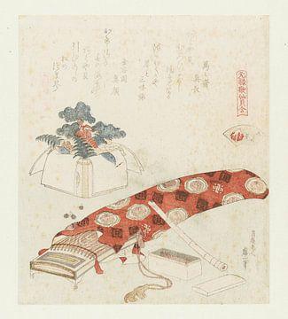 Akoya-Muschel, Katsushika Hokusai, 1821