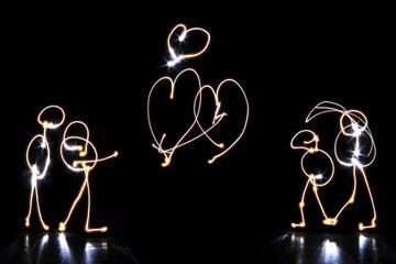Love is in the air van Saskia Vader