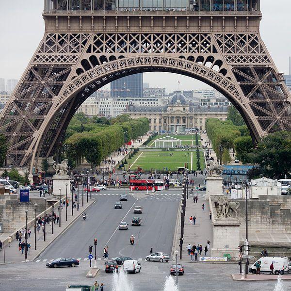 Parijs Eifeltoren van Jim van Iterson