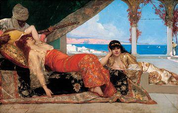 Weibliche Favoritin des Emirs - Benjamin Constant - 1879 von Atelier Liesjes