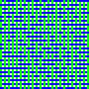 Onder en over 1:1 Random #06 12x12 GB.... van Gerhard Haberern