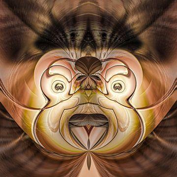 Fantasierijke abstracte twirlillustratie 113/41 van PICTURES MAKE MOMENTS