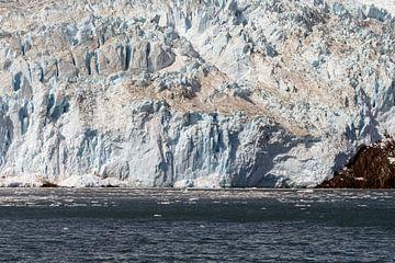 Aialik Gletsjer Alaska  in de Kenai Fjords