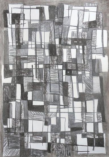 blokken en lijnen 2014 van Erik Mol