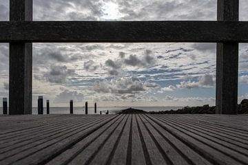 Linien in der Landschaft von Lianne van Dijk