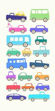 Jouets - voitures petites et grandes sur Joost Hogervorst