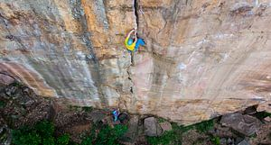 Centerfold Crack Climbing van