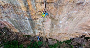 Centerfold Crack Climbing von menno visser