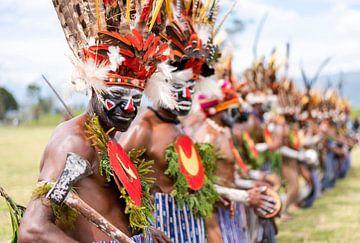 Stamm in Papua-Neuguinea von Milene van Arendonk