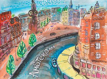 Amsterdam lacht von Ariadna de Raadt
