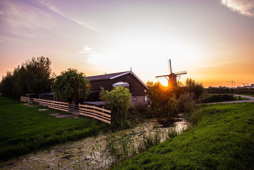Windmühlen von Kinderdijk von Brian Morgan