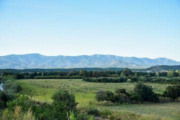 Pyreneeën in Spaans Landschap van Maria-Maaike Dijkstra