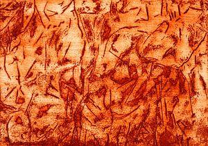 Höhlenzeichnung von Godelieve Kunst