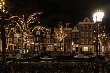 Een avond in Amsterdam van Leon Doorn