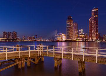 Rotterdam vanaf Katendrecht van Ronne Vinkx
