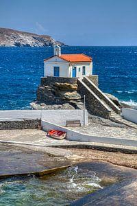 Andros, Cyclades, Grèce sur Konstantinos Lagos