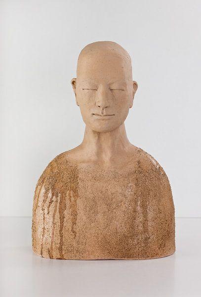 Zen-monnik nr. 14 door Kaori Goyen-Chiba van Walter Goyen