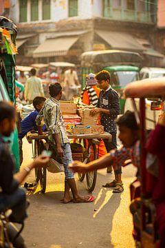 Markt von Delhi von SkyLynx