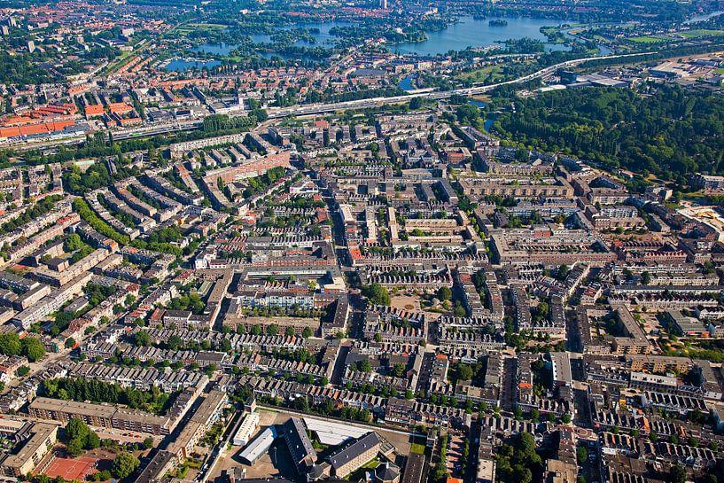 Luchtfoto Oude Noorden te Rotterdam van Anton de Zeeuw