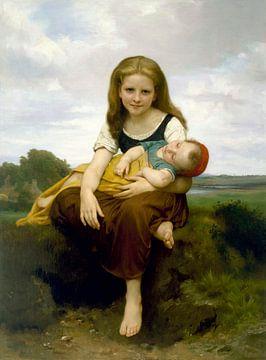 Die ältere Schwester, William-Adolphe Bouguereau