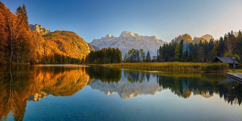 Herfst meer van Silvio Schoisswohl