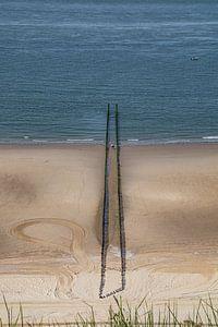 Zoutelande Strand von Helga van de Kar