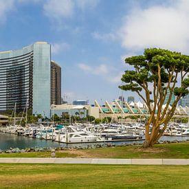 SAN DIEGO Skyline | Embarcadero Marina Park North von Melanie Viola