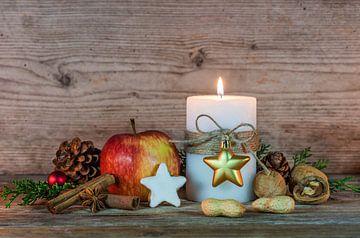 Advent en kerstversiering met eten van Alex Winter
