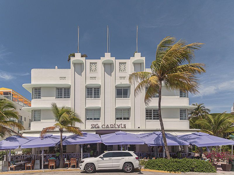 Miami Beach IV van Michael Schulz-Dostal
