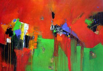 De wereld blijft kleurrijk van Claudia Neubauer