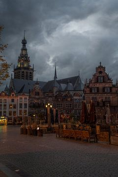 Stadsgezicht Nijmegen van Manuuu S