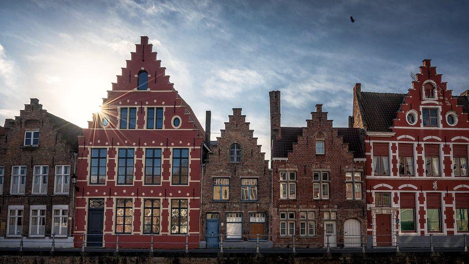 Old style houses van Remco van Adrichem
